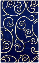 St. Croix Structure Ct56 Blue Area Rug