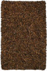 St. Croix Pelle Ld02 Brown Area Rug