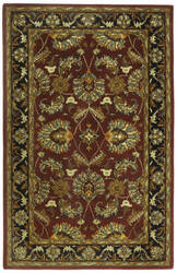 St. Croix Traditions Pt20 Burgundy Area Rug