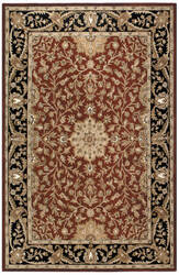St. Croix Traditions Pt38 Burgundy Area Rug