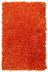 St. Croix Shimmer Shag Ss02 Orange Area Rug
