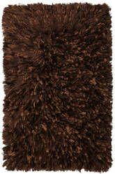 St. Croix Shimmer Shag Ss09 Brown Area Rug