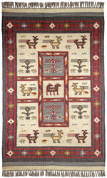 St. Croix Hacienda Wfw22 Off White Area Rug