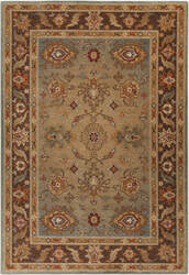 Surya Arabesque ABS-3011 Chocolate Area Rug