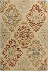 Surya Arabesque ABS-3018 Burgundy Area Rug