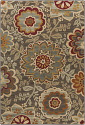 Surya Arabesque ABS-3020 Burgundy Area Rug