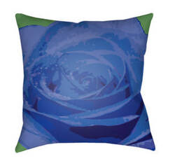 Surya Abstract Floral Pillow Af-001