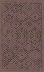 Surya Alameda AMD-1055 Taupe / Violet (purple) Area Rug