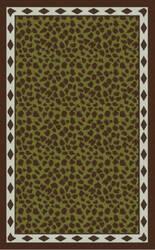 Surya Amour AMR-8002 Mocha / Green Area Rug