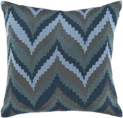 Surya Ikat Chevron Pillow Ar-054