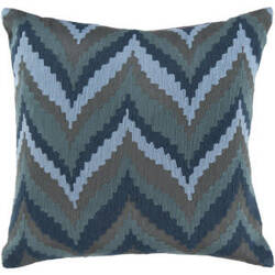 Surya Pillows AR-054 Gray/Teal