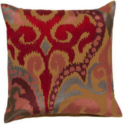 Surya Ara Pillow Ar-077 Camel/Orange