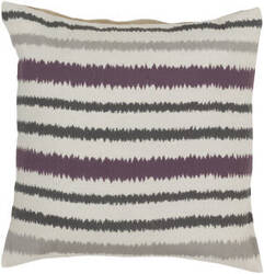 Surya Ikat Stripe Pillow Ar-105