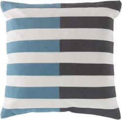 Surya Oxford Pillow Ar-134 Teal