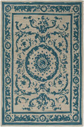 Surya Armelle Arm-1003 Teal Area Rug