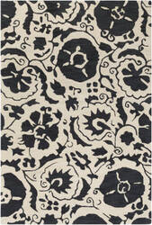 Surya Armelle Arm-1012 Black Area Rug