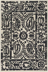 Surya Armelle Arm-1021 Black Area Rug