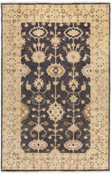 Surya Antique Atq-1007 Black Area Rug