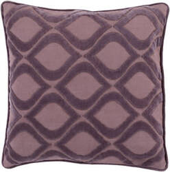 Surya Alexandria Pillow Ax-009 Mauve/Dark Purple