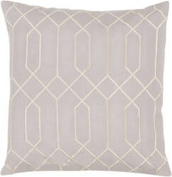 Surya Skyline Pillow Ba-033 Light Gray