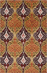 Surya Banshee Ban-3324 Burnt Orange Area Rug