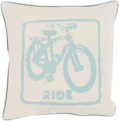 Surya Big Kid Blocks Pillow Bkb-015 Aqua