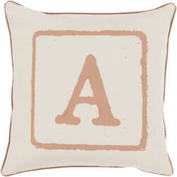 Surya Big Kid Blocks Pillow Bkb-023 Camel