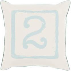 Surya Big Kid Blocks Pillow Bkb-043 Aqua