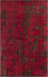 Surya Brocade Brc-1005 Venetian Red Area Rug