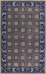 Surya Bordeaux BRD-6005 Violet (purple) Area Rug