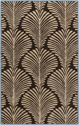 Surya Bordeaux BRD-6007 Chocolate Area Rug