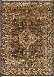 Surya Basilica BSL-7202 Dark Brown Area Rug