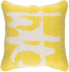 Surya Bristle Pillow Bt-002 Yellow