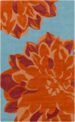 Surya Budding BUD-2000 Orange Area Rug