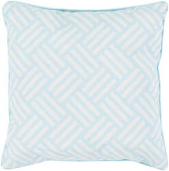 Surya Basketweave Pillow Bw-002 Aqua