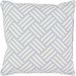 Surya Basketweave Pillow Bw-005 Grey