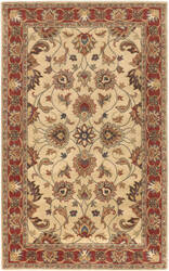 Surya Caesar CAE-1001 Beige-Rust Brown Area Rug