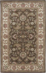 Custom Surya Caesar CAE-1003 Chocolate Area Rug
