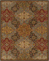 Custom Surya Carrington CAR-1005 Fatigue Green Area Rug
