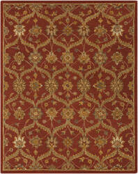 Surya Carrington CAR-1006 Brick Red Area Rug