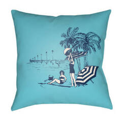 Surya Carolina Coastal Pillow Cc-003
