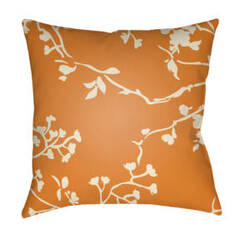 Surya Chinoiserie Floral Pillow Cf-004