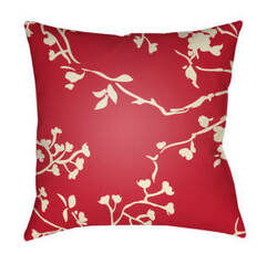 Surya Chinoiserie Floral Pillow Cf-008