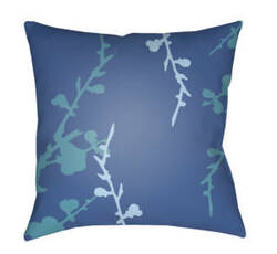 Surya Chinoiserie Floral Pillow Cf-018