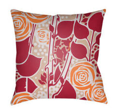 Surya Chinoiserie Floral Pillow Cf-027