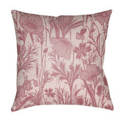Surya Chinoiserie Floral Pillow Cf-029