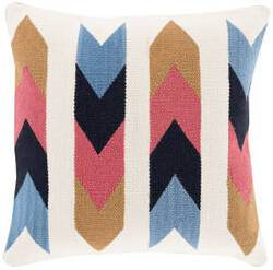 Surya Cotton Kilim Pillow Ck-004 Multi