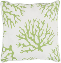 Surya Coral Pillow Co-006 Grass Green