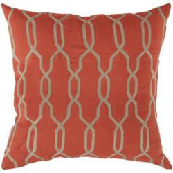 Surya Pillows COM-005 Orange