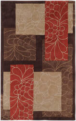 Surya Cosmopolitan Cos-8889 Chocolate Area Rug
